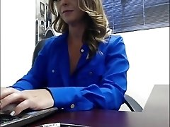 Milf office strip