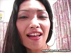 Mature Thai Hooker Swallows Cum