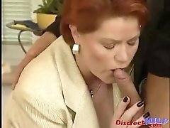 German MILF Gets Warm Facial Load