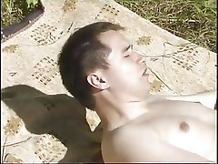 Brunette Milf Being Fucked Outdoors By Her Younger Boyfriend